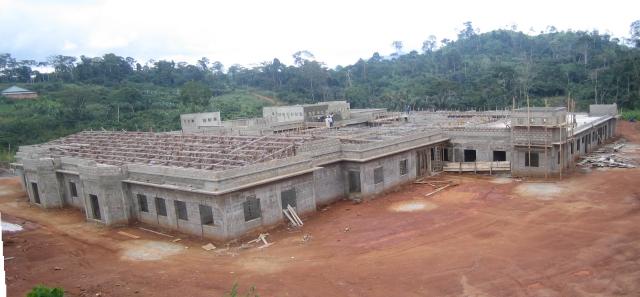 Cameroon Eye Institute Construction Progress